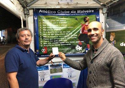 A. C. Malveira foi premiado com o Cartão Branco / FairPlay