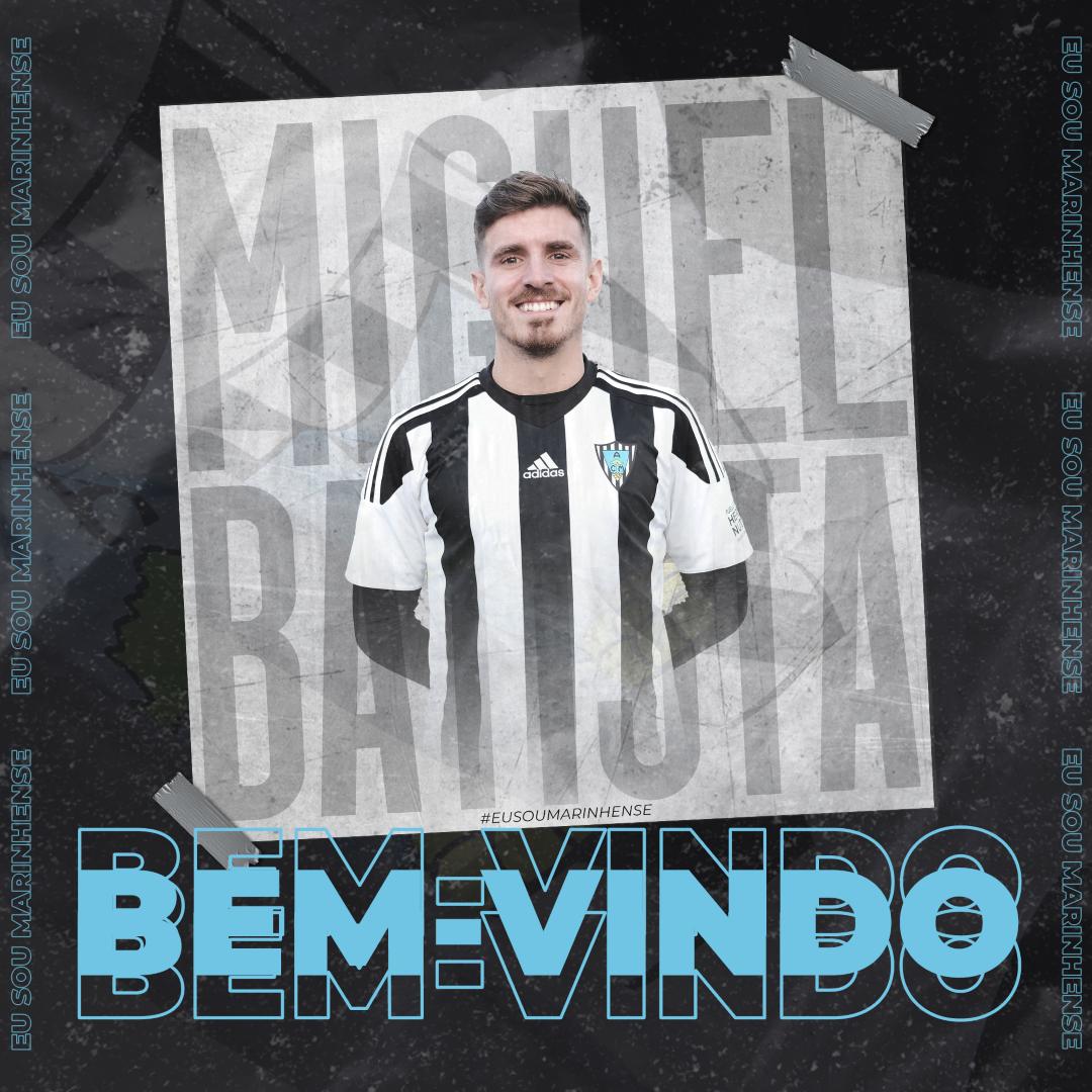 Bem-vindo Miguel Baptista!