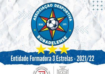 ENTIDADE FORMADORA CERTIFICADA COM 3 ESTRELAS