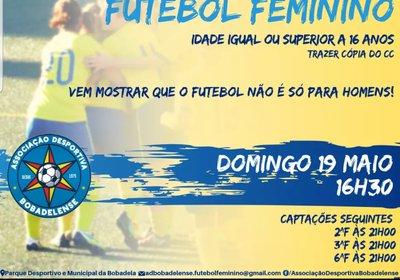 Captações - Futebol Feminino