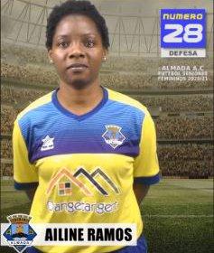 Futebol   Seniores Femininos   Ailine Ramos representará o Almada AC na época 2020/21
