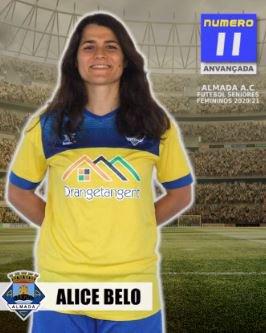 Futebol | Seniores Femininos | Bem-vinda Alice Belo ao Almada AC