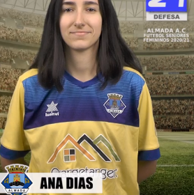 Futebol   Seniores Femininos   Ana Dias representará o Almada AC na época 2020/21