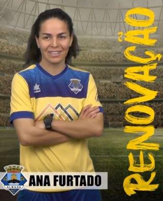 Futebol   Seniores Femininos   Ana Furtado renova com o Almada A.C.