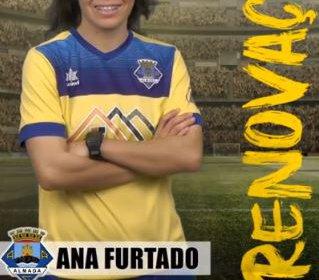 Futebol | Seniores Femininos | Ana Furtado renova com o Almada A.C.