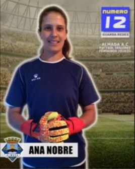 Futebol | Seniores Femininos | Bem-vinda Ana Nobre ao Almada AC