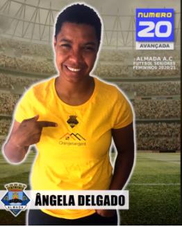 Futebol | Seniores Femininos | Bem-vinda Ângela Delgado ao Almada AC