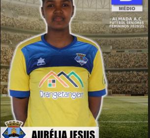 Futebol | Seniores Femininos | Aurélia Jesus representará o Almada AC na época 2020/21