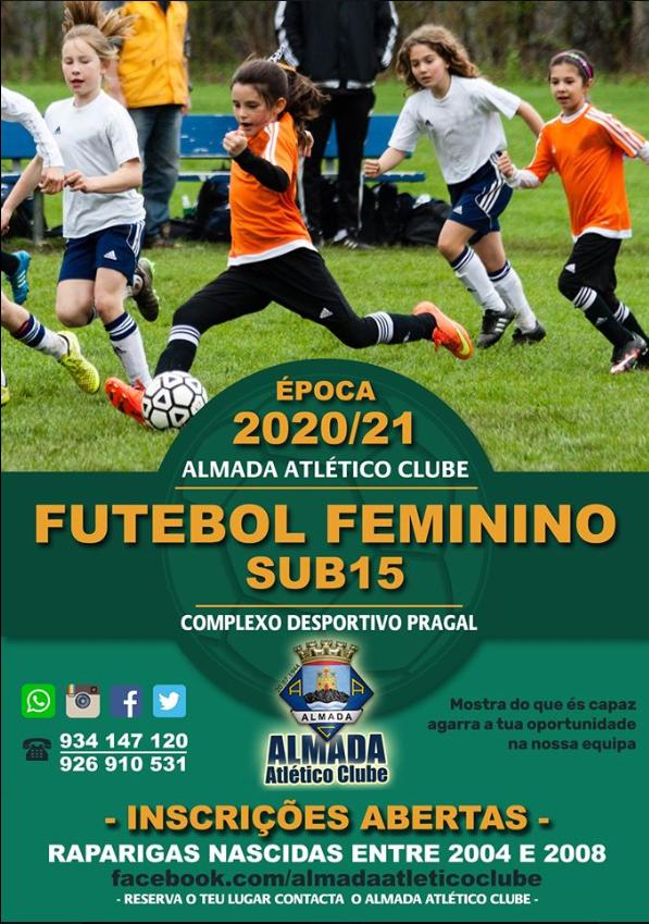 Inscrições Abertas - Almada Atlético Clube