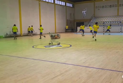 Equipa sénior de andebol do Almada AC