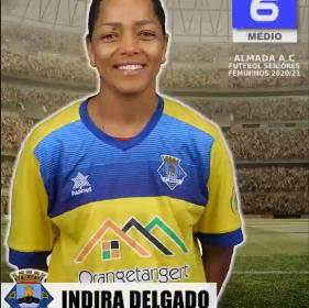 Futebol   Seniores Femininos   Indira Delgado representará o Almada AC na época 2020/21
