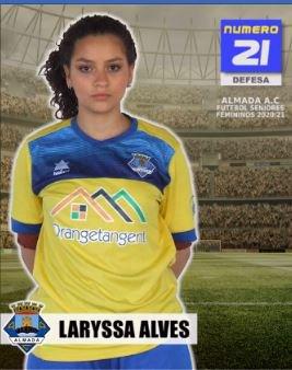 Futebol   Seniores Femininos   Bem-vinda Laryssa Alves ao Almada AC