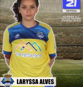 Futebol | Seniores Femininos | Bem-vinda Laryssa Alves ao Almada AC