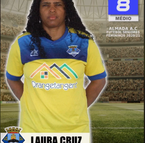 Futebol | Seniores Femininos | Laura Cruz representará o Almada AC na época 2020/21