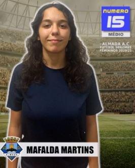 Futebol   Seniores Femininos   Bem-vinda Mafalda Martins ao Almada AC