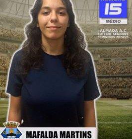 Futebol | Seniores Femininos | Bem-vinda Mafalda Martins ao Almada AC