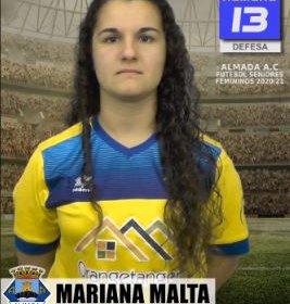 Futebol | Seniores Femininos | Mariana Malta continuará a representar o Almada AC