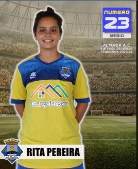 Futebol | Seniores Femininos | Bem-vinda Rita Pereira ao Almada AC