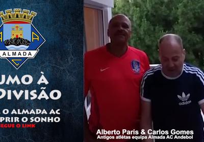 Sigam o apelo dos ex-atletas Alberto Paris e Carlos Gomes