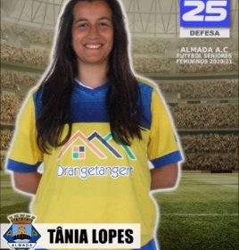 Futebol | Seniores Femininos | Bem-vinda Tânia Lopes ao Almada AC