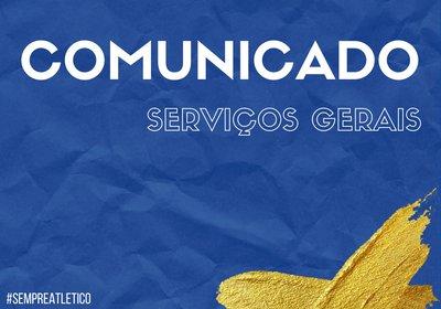 Serviços Gerais - Secretaria e Loja Online