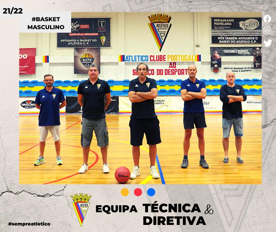 Estrutura Técnica e Diretiva do Basket