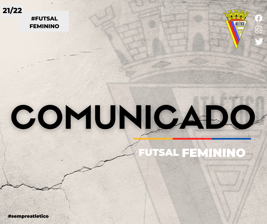Comunicado - Futsal