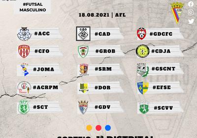 Futsal - Sorteio 2021/2022