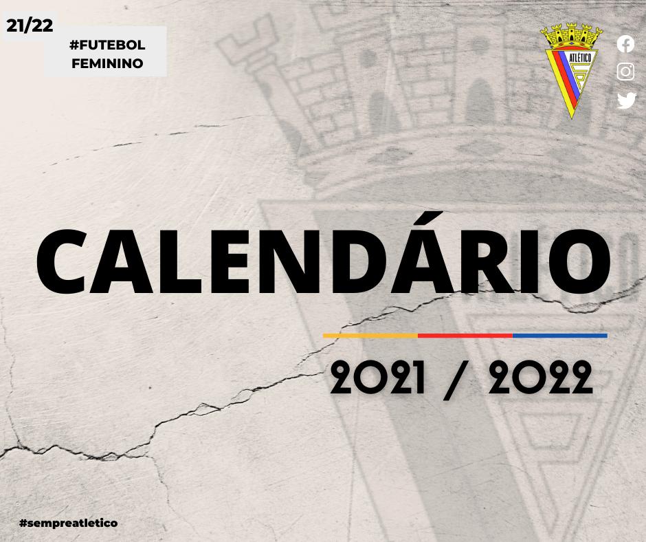 Calendário 2021/2022
