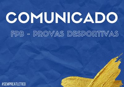 FPB - Provas Desportivas