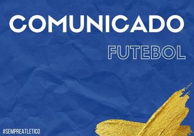Comunicado - Futebol