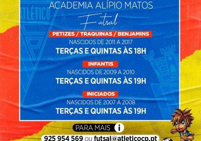 Captações: Futsal
