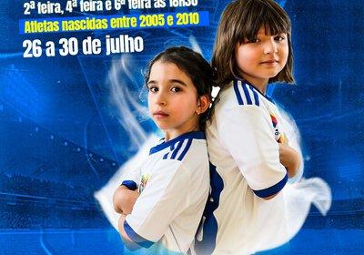 Captações: Futebol Feminino Formação
