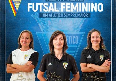 Equipa Técnica - Futsal Feminino