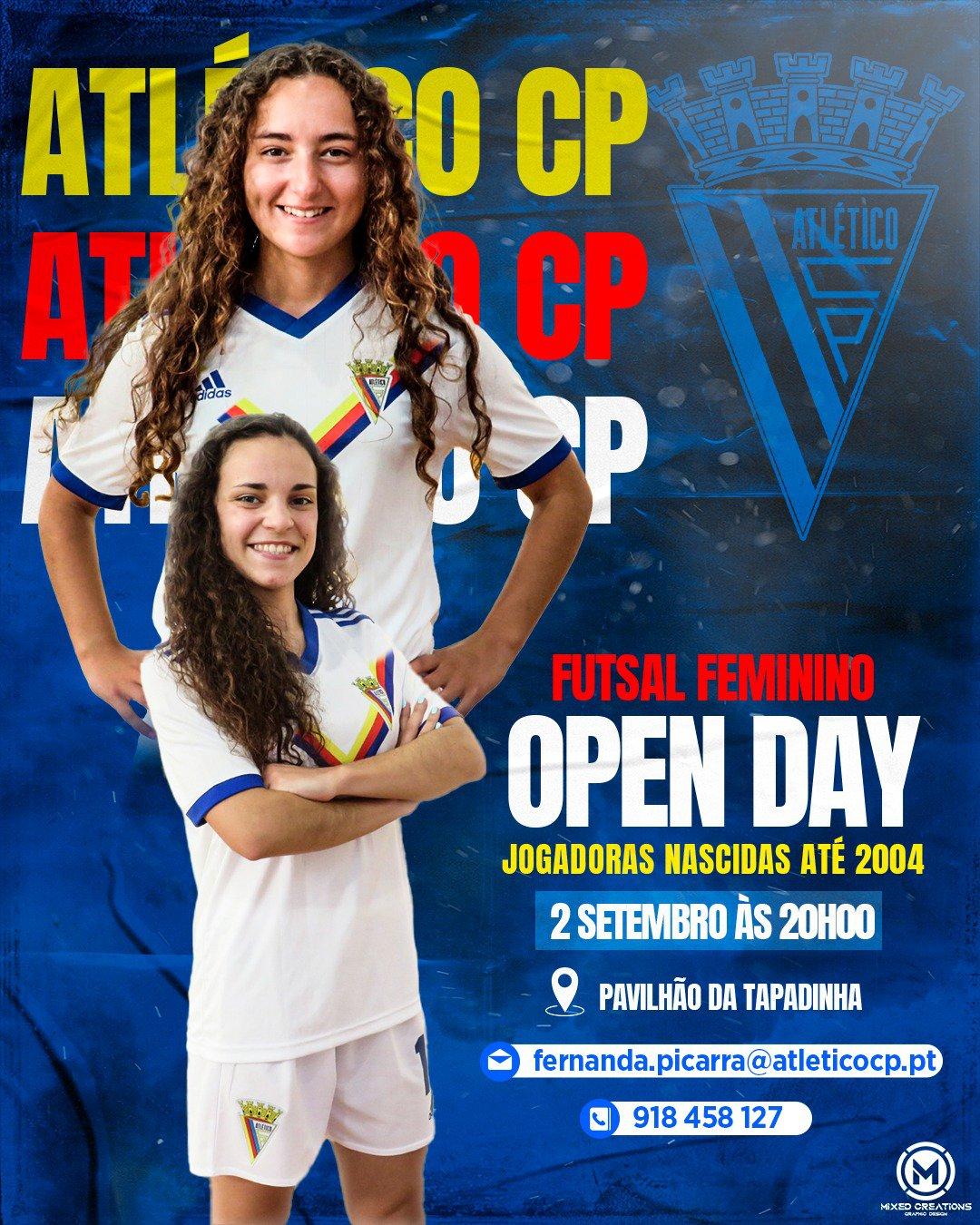 Open Day: Futsal Feminino