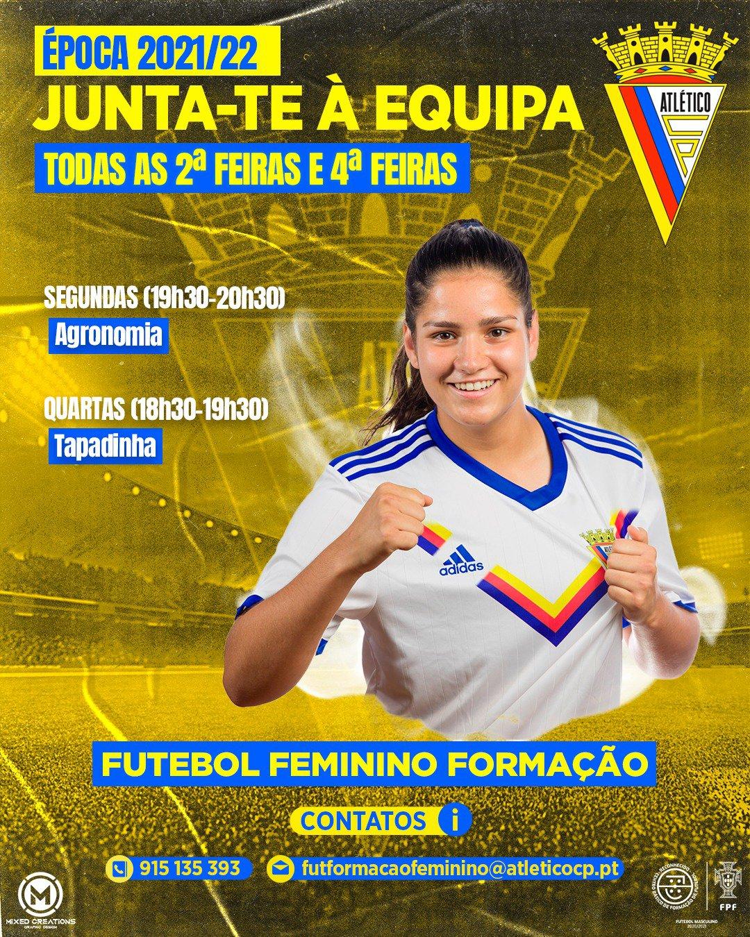 Futebol Feminino Formação