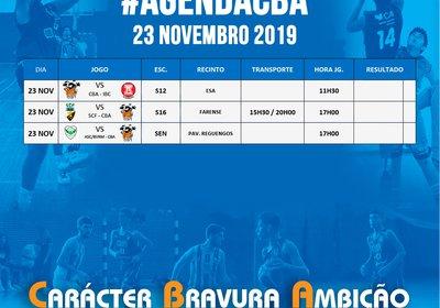 Jogos 23 Novembro 2019