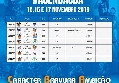 Próximos Jogos 15-16-17 NOvembro