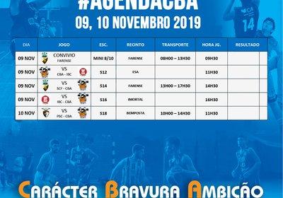 Agenda 09 e 10 Novembro