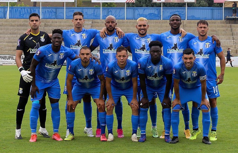 Empate em Anadia no jogo inaugural da Liga 3