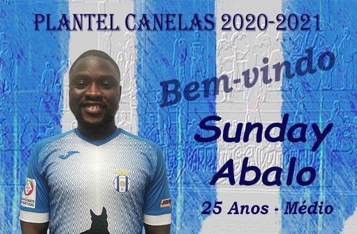 Sunday Abalo é reforço do Canelas 2010.