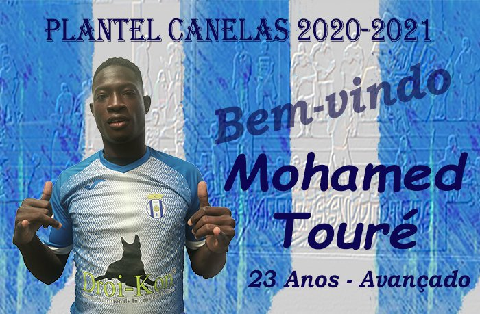 Mohamed Touré (ex-Aves) é reforço do Canelas