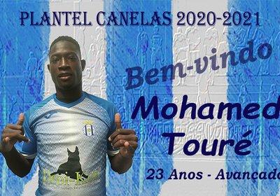 Mohamed Touré (ex-Aves) é reforço do Canelas
