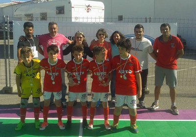 1º Mundialito de Futsal de Benjamins