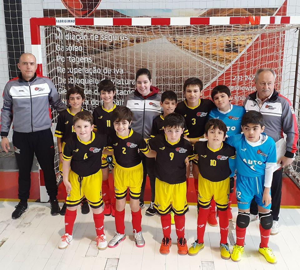 12ª Jornada do Campeonato Distrital de Futsal Benjamins
