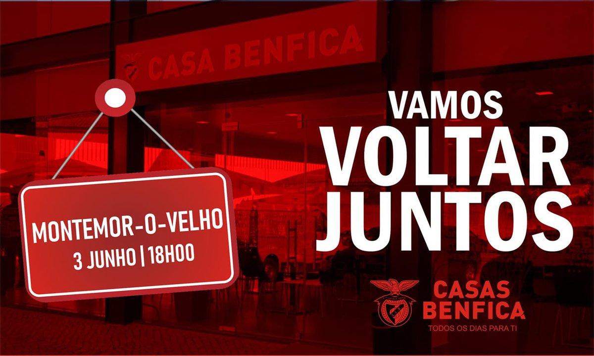 Casa do Benfica reabre todos os serviços