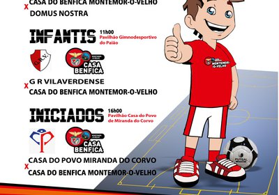Este fim-de-semana há Futsal!