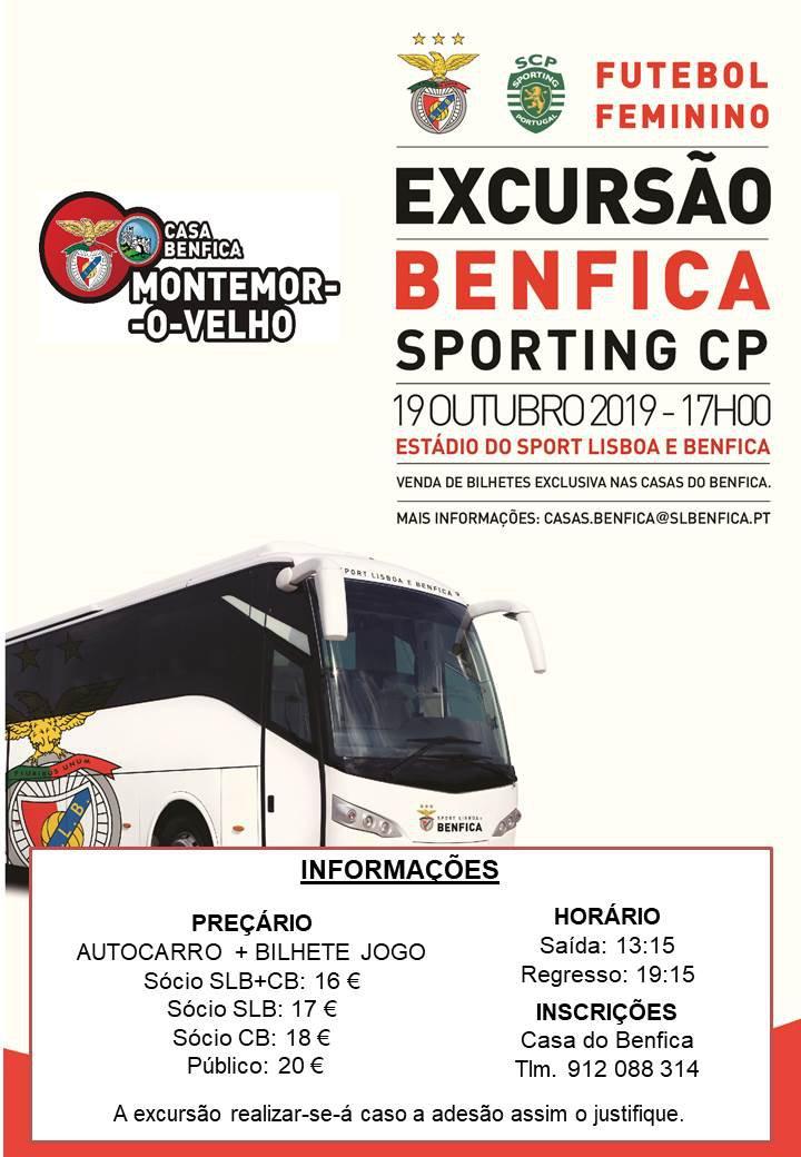 Excursão: Benfica - Sporting