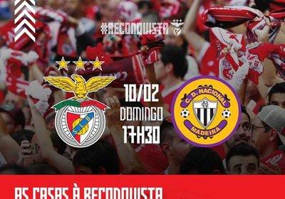 Excursão: Benfica - Nacional