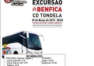 Excursão: SLBenfica VS CDTondela